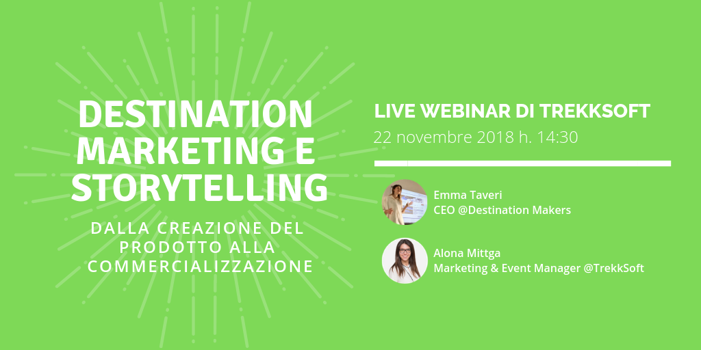 IT Webinar - 22.11.18 Destination & Storytelling