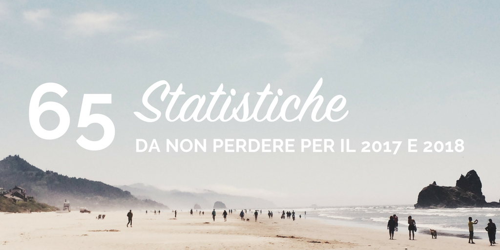 65 statistiche sul turismo