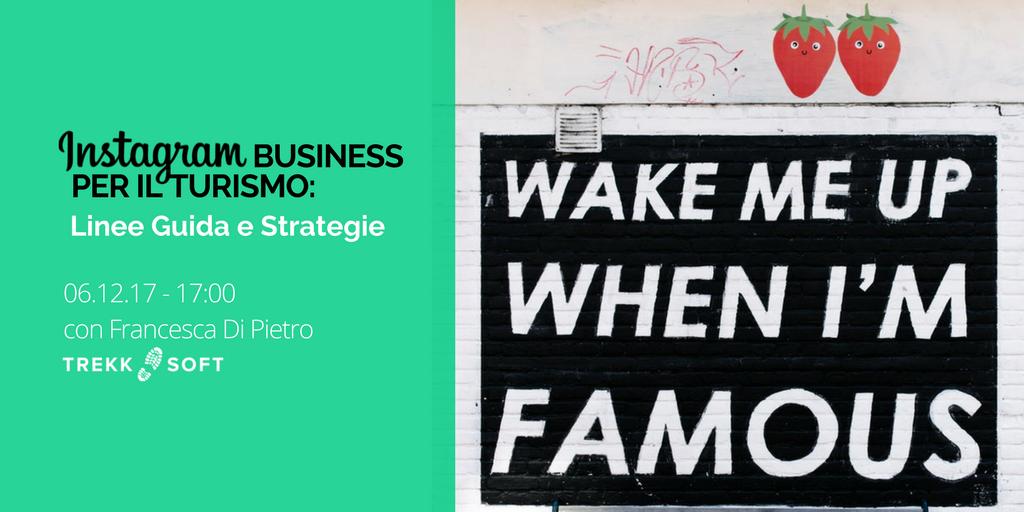 Instagram business per il turismo: linee guida e strategie Image