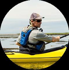 Patrick O'Regan kayak