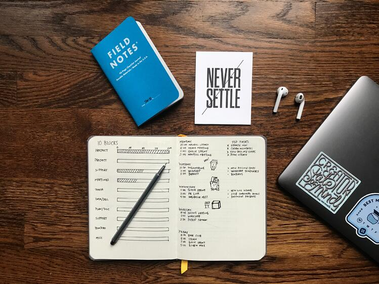 Notebook - project management