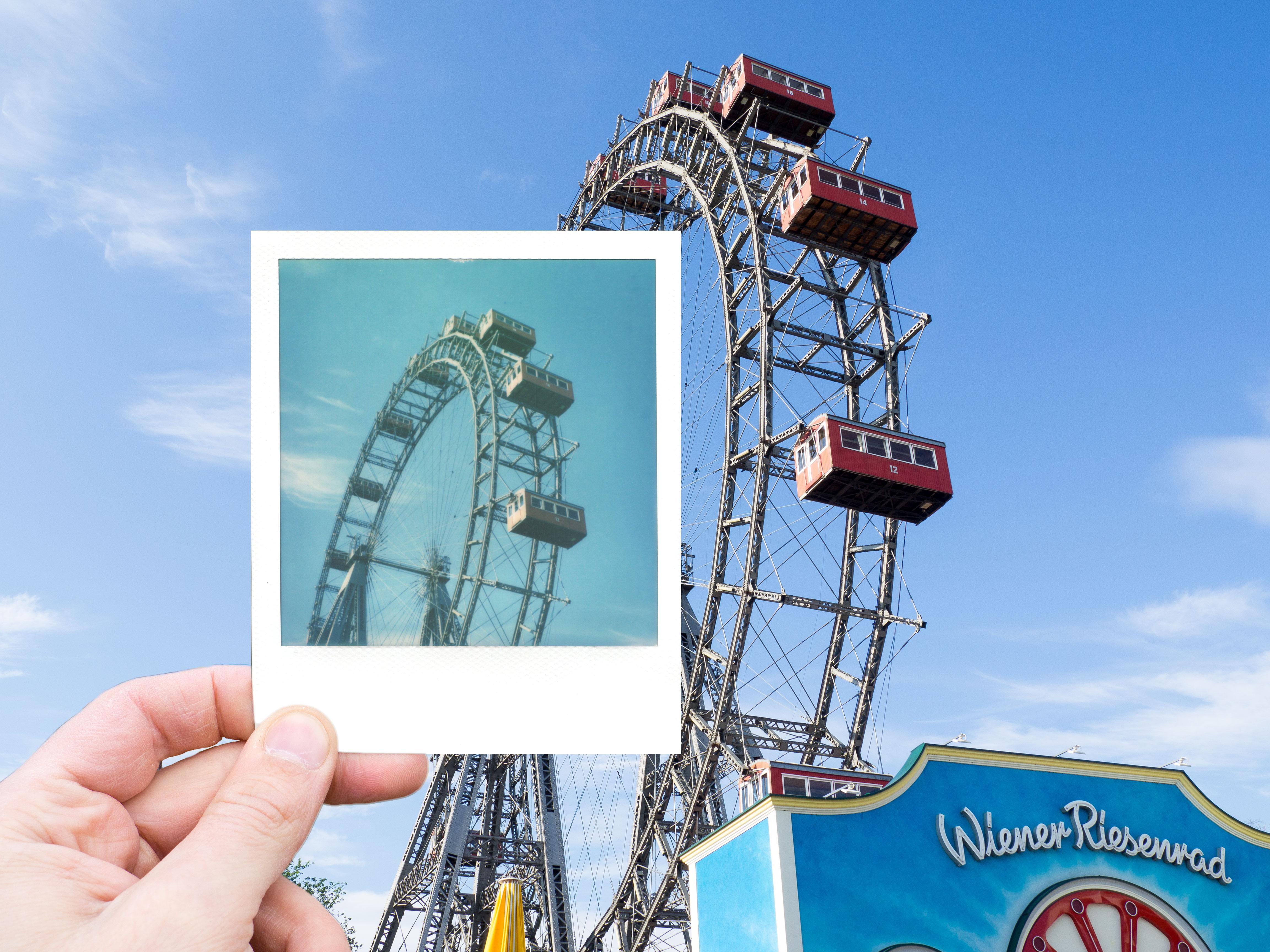 Sophort Polaroid-Tour Prater