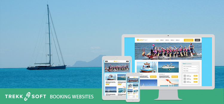 Sailing company uses trekksoft to improve online bookings
