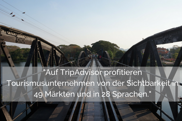 Tourismusunternehmen profitieren von TripAdvisor