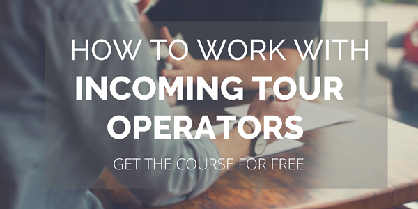 How to work with incoming tour operators (1)
