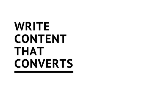 Write content that converts browsers into booked customers Image