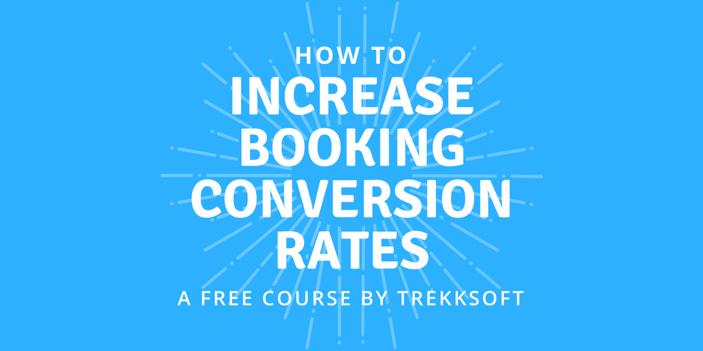 Free course- Increase booking conversion rates