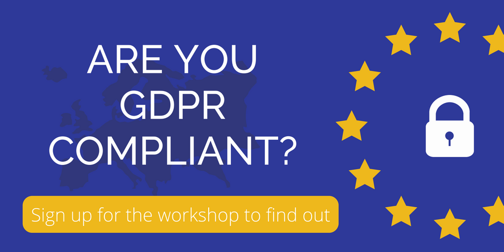 Are you GDPR compliant? Image