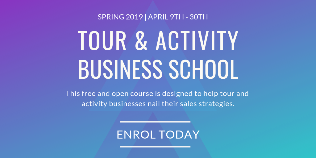 Tour and activity business school - Email header