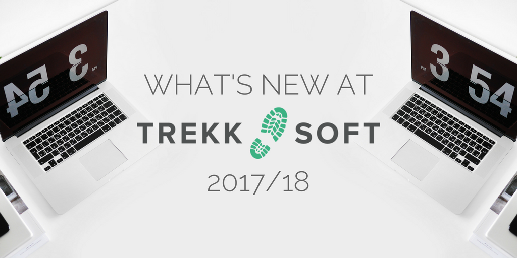 What's new at TrekkSoft: Feature releases in 2017/18 Image
