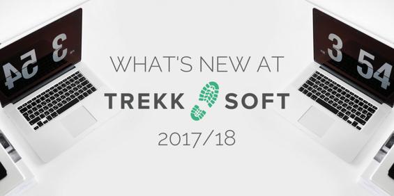 What's new at TrekkSoft 2017/18