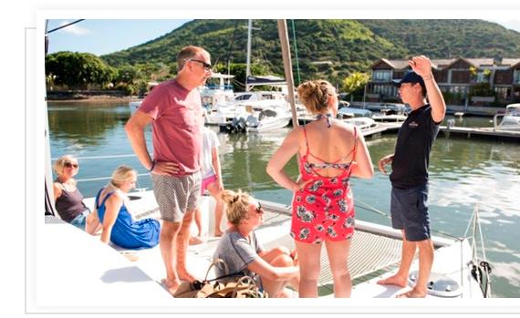 TrekkSoft customer - Catamaran Cruises Mauritius