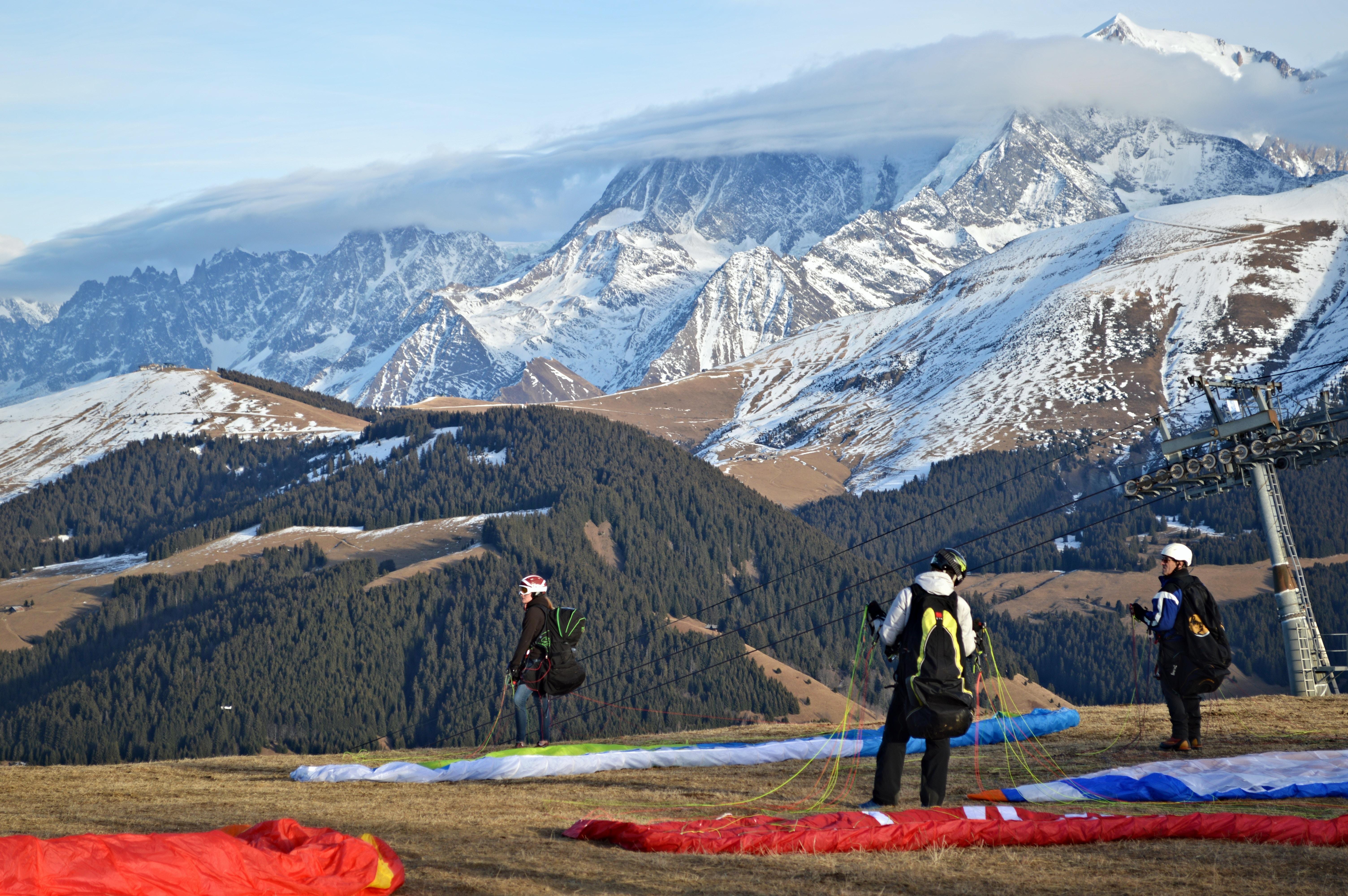 Paragliding company