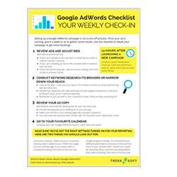 Weekly Google AdWords Checklist Image