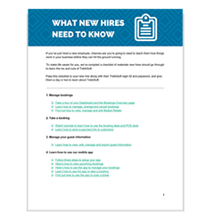 New Hires Onboarding Checklist Image