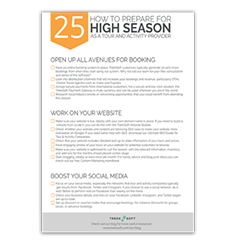 25 Steps to Prepare for High Season Image