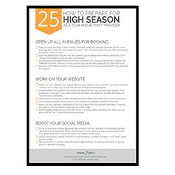 25 pasos para prepararse para la temporada alta Image