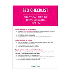 Checklist ✓  SEO Image