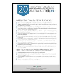 20-Step TripAdvisor Checklist Image