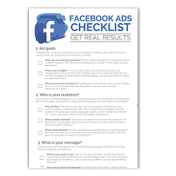 Facebook Advertising Checklist Image