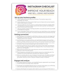 Instagram Checklist Image