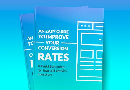 Download: Come aumentare i Tassi di Conversione del sito web -  Guida Ebook in PDF - TrekkSoft