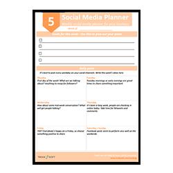 Social Media Planer Image