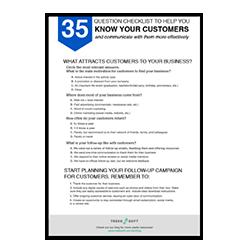 35 Fragen zu Ihrem Kunden Image