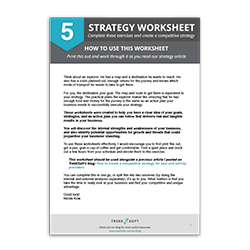 Competitive Business Strategy Guide Image