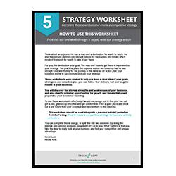 Strategie Arbeitsblatt Image