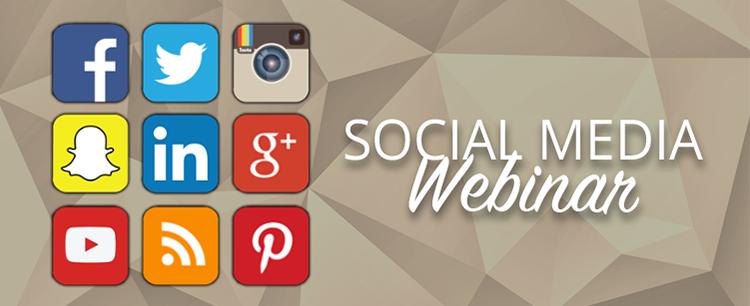 Social Media Webinar Image