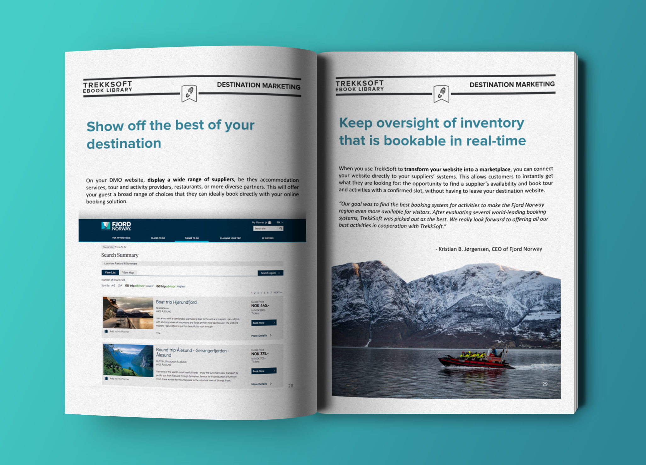 Destinationsmarketing Ebook TrekkSoft