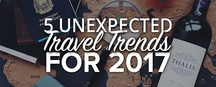 5 unexpected travel trends for 2017