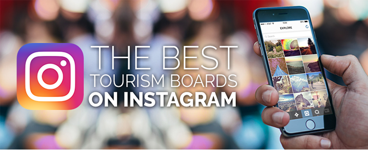 Best tourism boards on Instagram