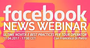 Facebook News: ultime novità e best practices per Tour Operator Image