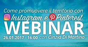 Instagram & Pinterest Webinar per Tour Operator Image