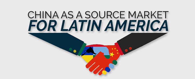 China as source market for LATAM