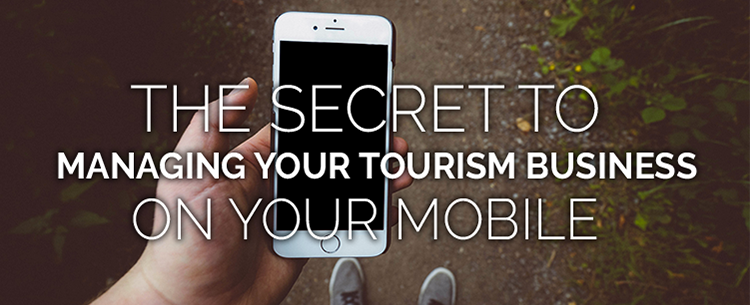 Manage tourism business on mobile