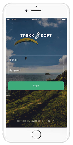 app mobile trekksoft iOS android