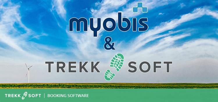 TrekkSoft partner with myobis