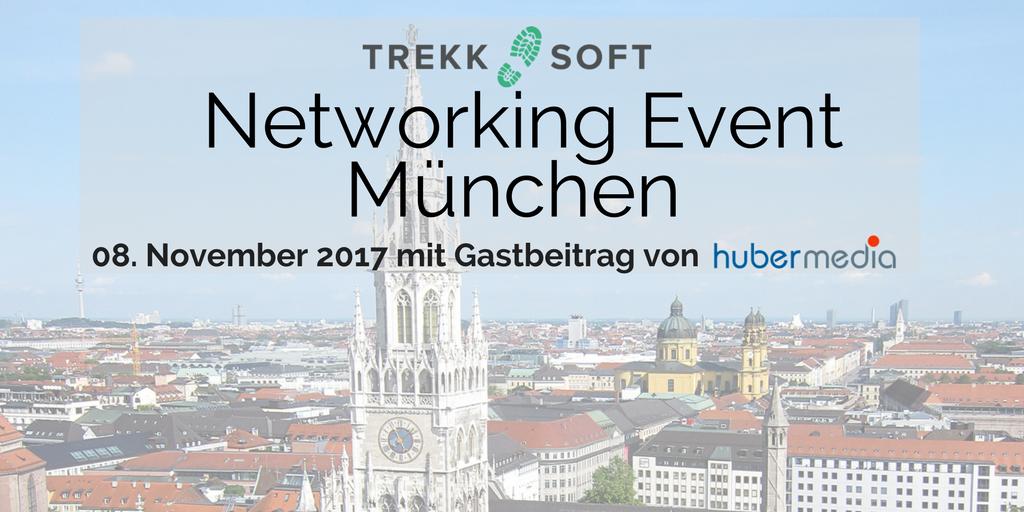 Networking Event München Hubermedia & TrekkSoft