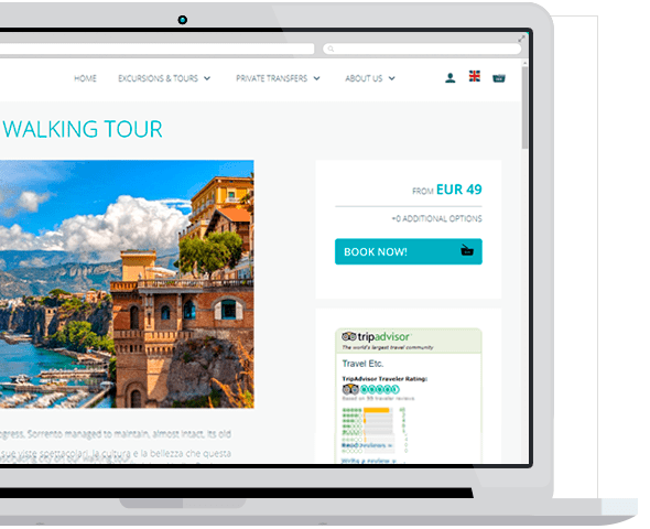 Solution to Sell - Booking System