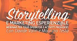 Storytelling e Marketing Esperienziale per Tour Operator Image