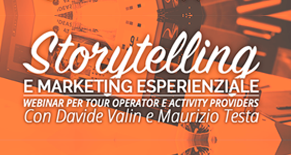 Storytelling e Marketing Esperienziale per Tour Operator Image