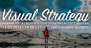 Visual Startegy Webinar per la crescita di Tour Operator e Activity Provider Image