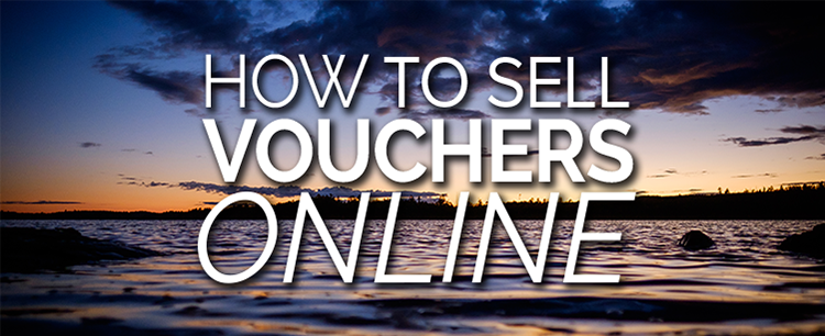 Sell vouchers online