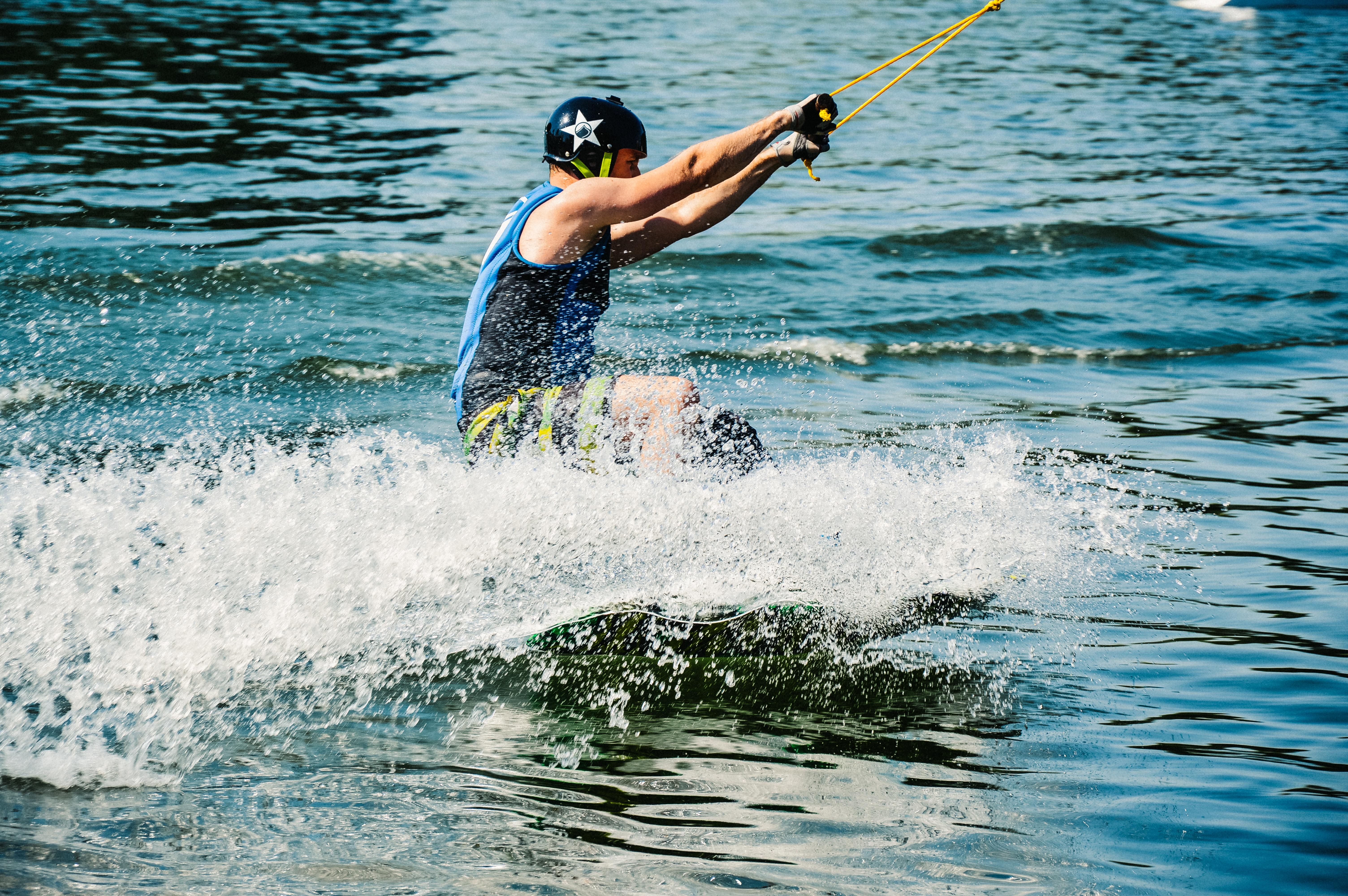 Wakeboarding activity