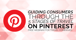 Guiding consumers through the 5 stages of travel on Pinterest Image