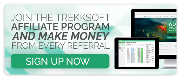 Join TrekkSoft affiliate program