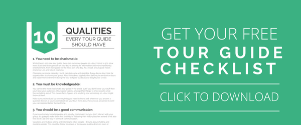 Get your free Tour Guide checklist